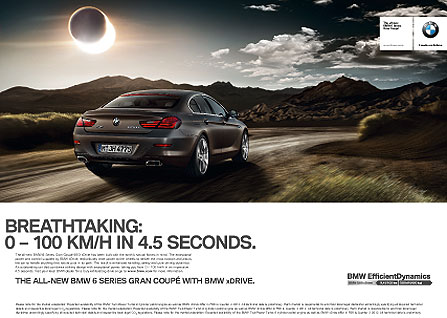 Georg Fischer Fotograf Photographer - Menu / Campaign / BMW  - BMW for WCRS & Co., AD: Simon Robinson