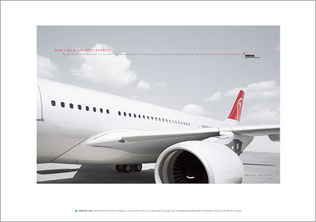 Georg Fischer Fotograf Photographer - Menu / Portfolio / Transportation  - Northwest Airlines for Carmichael Lynch, USA, AD: Hans Hansen