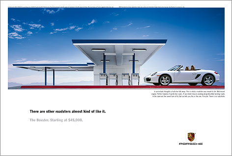 Georg Fischer Fotograf Photographer - Menu / Campaign / Porsche  - Porsche USA for Carmichael Lynch, AD: Hans Hansen