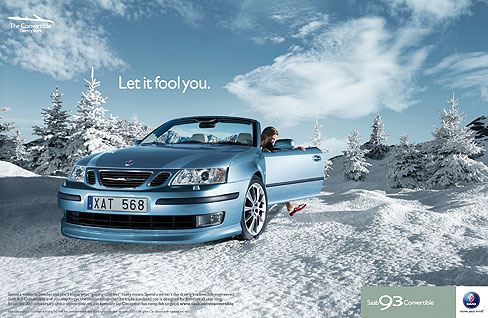 Georg Fischer Fotograf Photographer - Menu / Campaign / Saab  - Saab for Lowe Brindfors, AD: Michael Fox